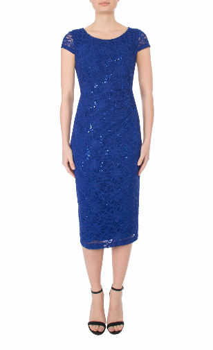 Anthea crawford mother of the bride and groom cobalt stretch lace dress-135