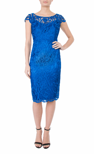 Anthea crawford mother of the bride and groom  acqua cobalt dress-765