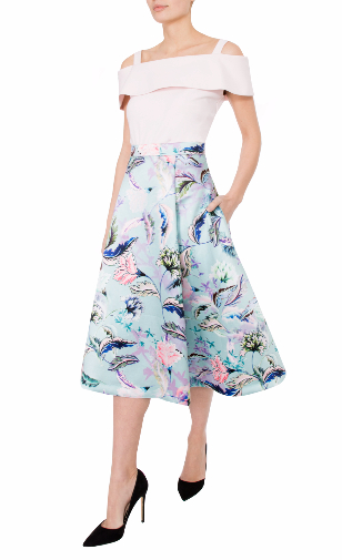 Anthea crawford mother of the bride and groom  fleur skirt with balet top-168