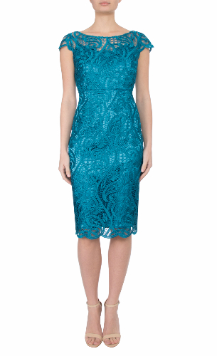 Anthea crawford mother of the bride and groom acqua cobalt TEAL-107