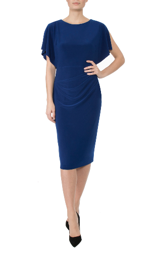 Anthea Crawford Sapphire dress mother of the bride and groom elegant day wear evening wear