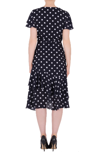 Polkadot Dress Back.