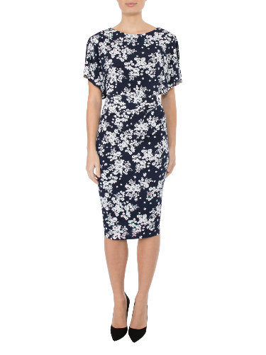 Anthea Crawford   wedding guest, Elegant day wear. blossom