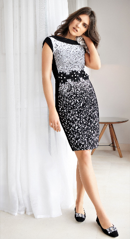 JOSEPH RIBKOFF SHELLEY DRESS